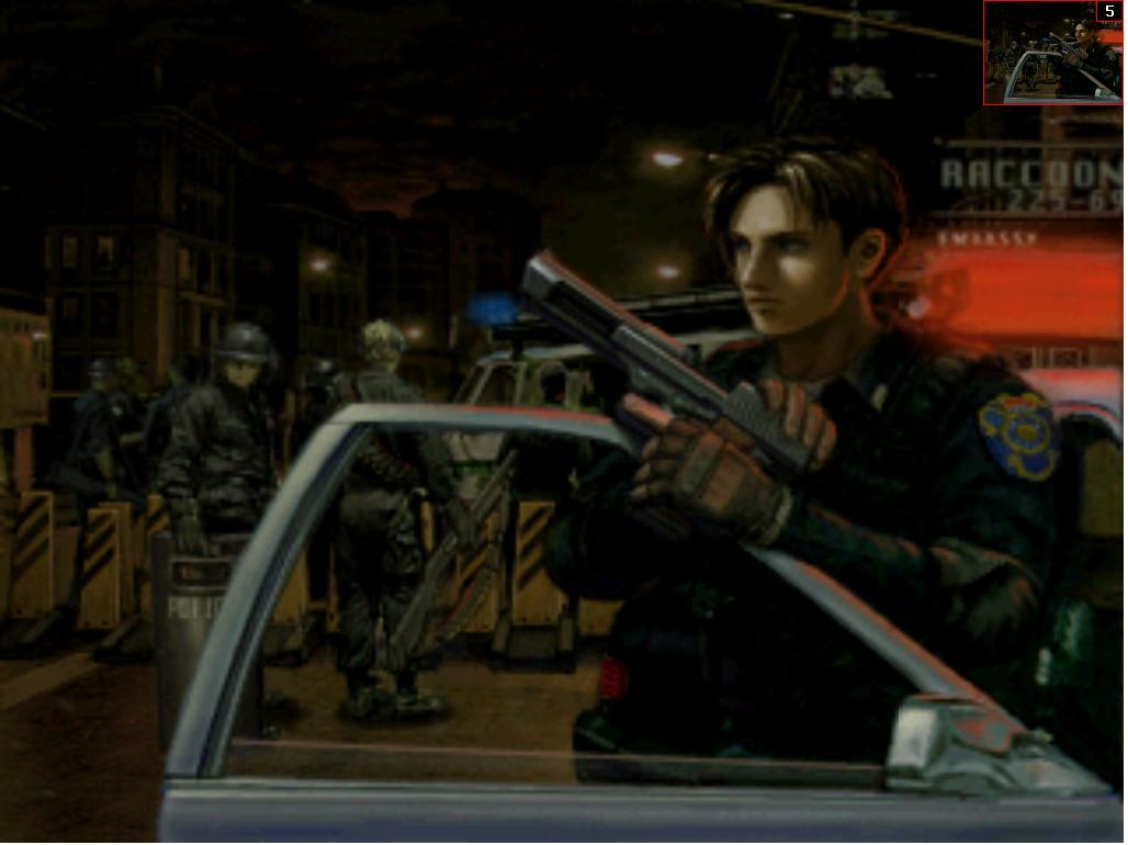 Screenshot thumbnail media file 3 for resident evil 2 dual shock